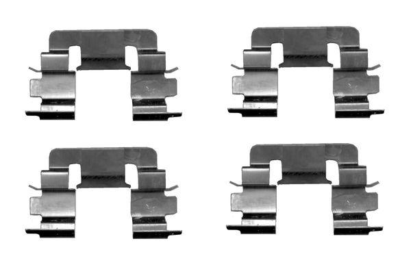 Kit de montage plaquettes de frein BOSCH 1 987 474 628 (X1)
