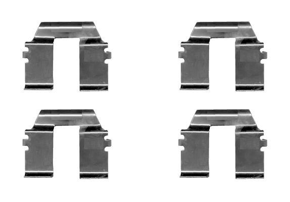 Kit de montage plaquettes de frein BOSCH 1 987 474 629 (X1)