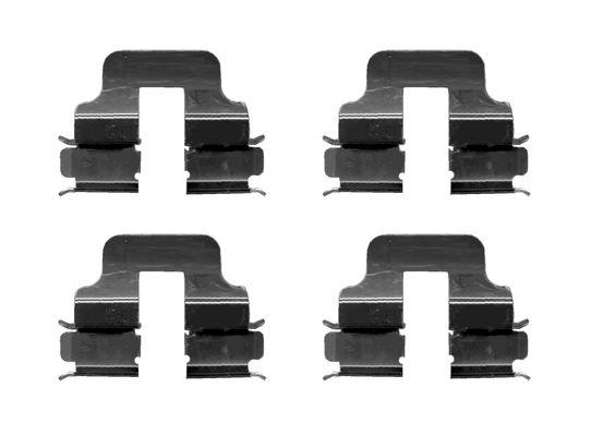 Kit de montage plaquettes de frein BOSCH 1 987 474 630 (X1)