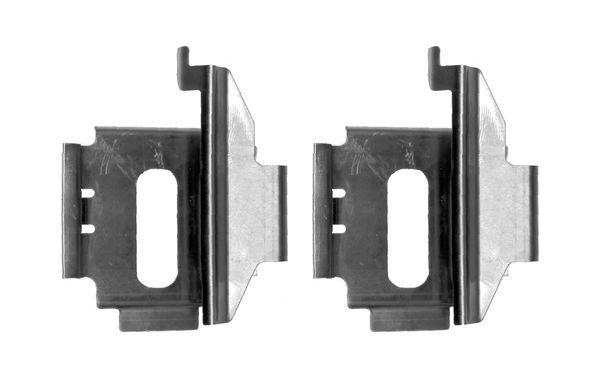 Kit de montage plaquettes de frein BOSCH 1 987 474 638 (X1)
