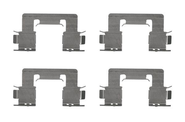 Kit de montage plaquettes de frein BOSCH 1 987 474 643 (X1)
