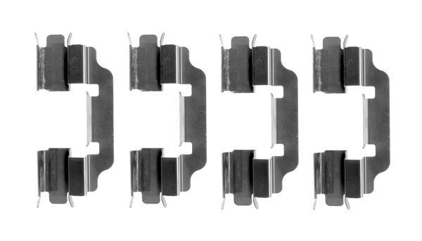 Kit de montage plaquettes de frein BOSCH 1 987 474 645 (X1)
