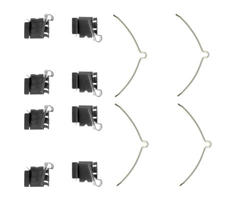 Kit de montage plaquettes de frein BOSCH 1 987 474 653 (X1)