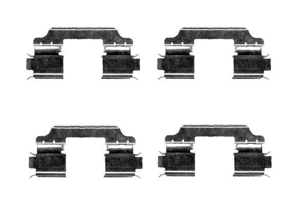 Kit de montage plaquettes de frein BOSCH 1 987 474 667 (X1)