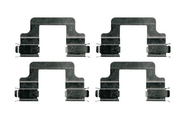 Kit de montage plaquettes de frein BOSCH 1 987 474 685 (X1)