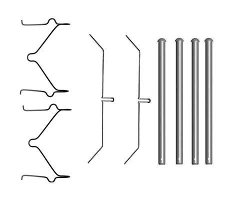 Kit de montage plaquettes de frein BOSCH 1 987 474 698 (X1)