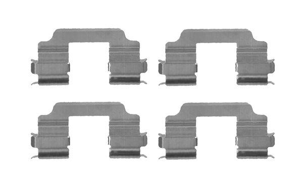 Kit de montage plaquettes de frein BOSCH 1 987 474 701 (X1)