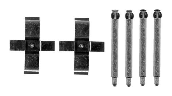 Kit de montage plaquettes de frein BOSCH 1 987 474 704 (X1)