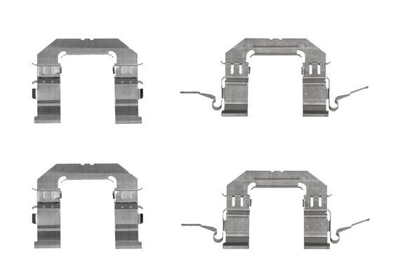 Kit de montage plaquettes de frein BOSCH 1 987 474 708 (X1)