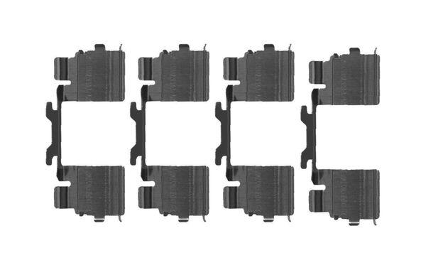 Kit de montage plaquettes de frein BOSCH 1 987 474 709 (X1)