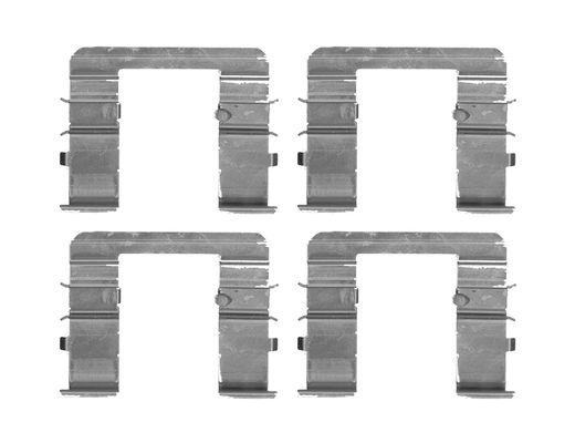 Kit de montage plaquettes de frein BOSCH 1 987 474 718 (X1)