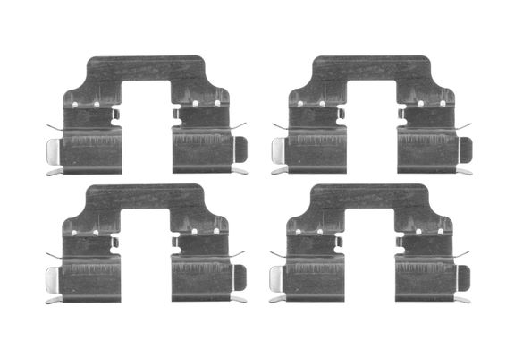 Kit de montage plaquettes de frein BOSCH 1 987 474 722 (X1)