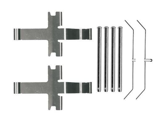 Kit de montage plaquettes de frein BOSCH 1 987 474 724 (X1)