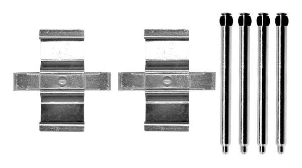 Kit de montage plaquettes de frein BOSCH 1 987 474 730 (X1)