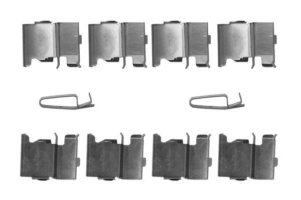 Kit de montage plaquettes de frein BOSCH 1 987 474 737 (X1)