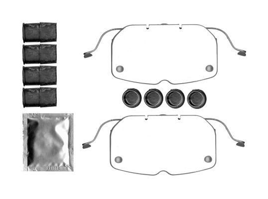 Kit de montage plaquettes de frein BOSCH 1 987 474 740 (X1)