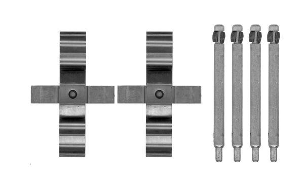 Kit de montage plaquettes de frein BOSCH 1 987 474 741 (X1)