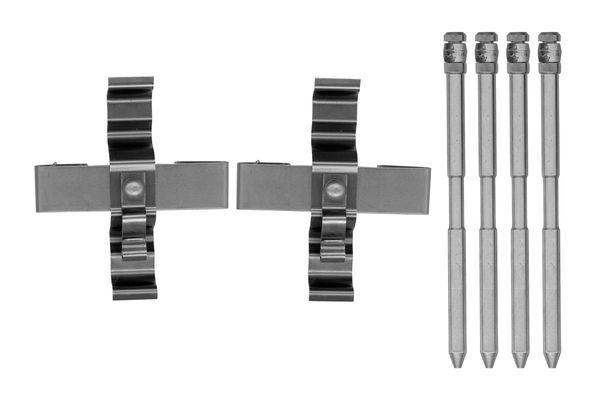 Kit de montage plaquettes de frein BOSCH 1 987 474 744 (X1)