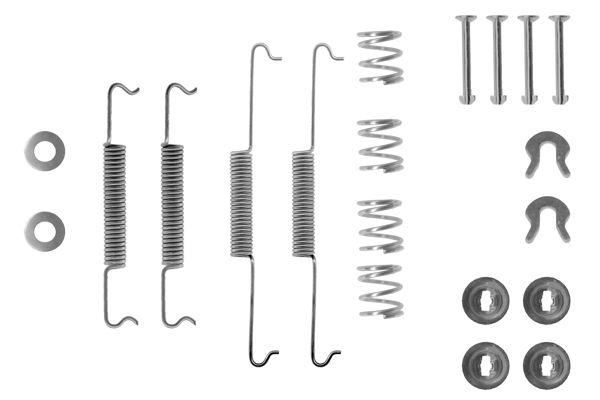 Kit de montage machoires de frein BOSCH 1 987 475 007 (X1)