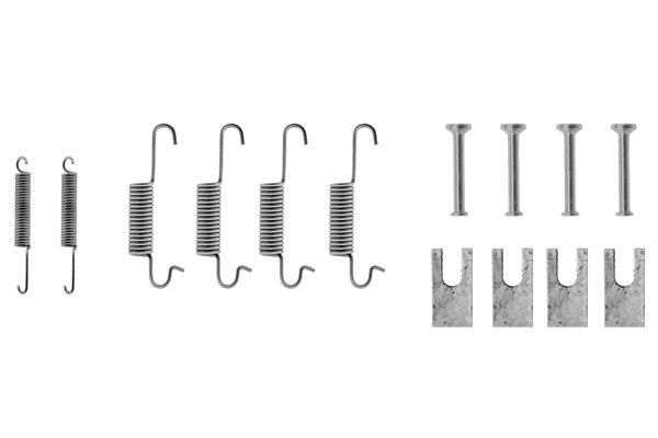 Kit de montage machoires de frein BOSCH 1 987 475 008 (X1)