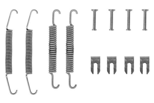 Kit de montage machoires de frein BOSCH 1 987 475 029 (X1)