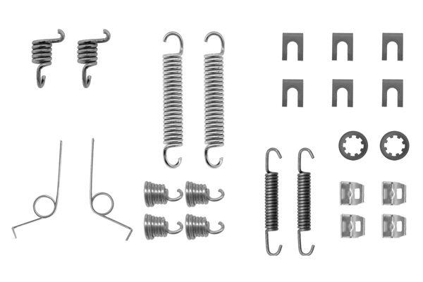 Kit de montage machoires de frein BOSCH 1 987 475 030 (X1)