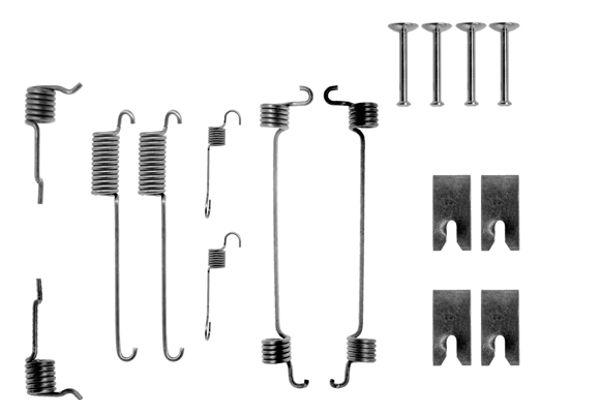 Kit de montage machoires de frein BOSCH 1 987 475 057 (X1)