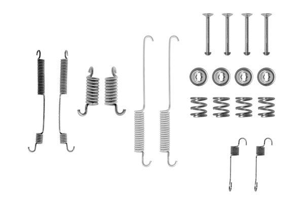 Kit de montage machoires de frein BOSCH 1 987 475 072 (X1)