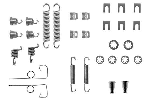 Kit de montage machoires de frein BOSCH 1 987 475 086 (X1)
