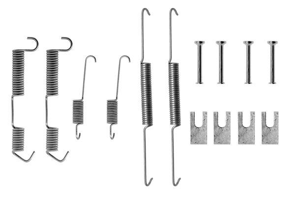 Kit de montage machoires de frein BOSCH 1 987 475 091 (X1)