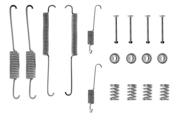 Kit de montage machoires de frein BOSCH 1 987 475 092 (X1)