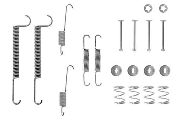 Kit de montage machoires de frein BOSCH 1 987 475 098 (X1)