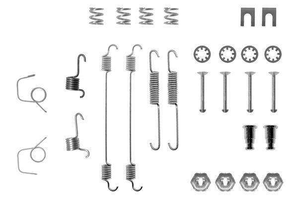 Kit de montage machoires de frein BOSCH 1 987 475 100 (X1)