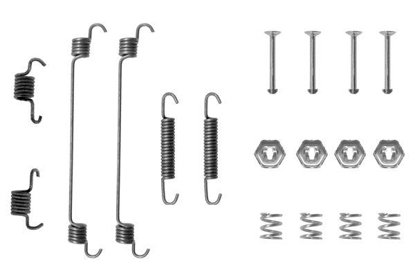 Kit de montage machoires de frein BOSCH 1 987 475 101 (X1)