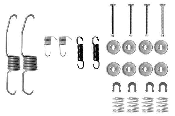 Kit de montage machoires de frein BOSCH 1 987 475 106 (X1)