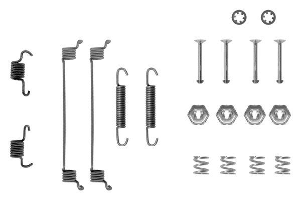 Kit de montage machoires de frein BOSCH 1 987 475 116 (X1)