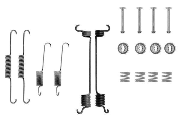 Kit de montage machoires de frein BOSCH 1 987 475 124 (X1)
