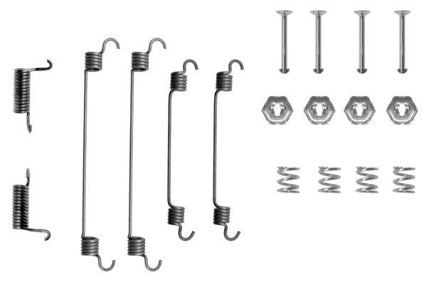 Kit de montage machoires de frein BOSCH 1 987 475 125 (X1)