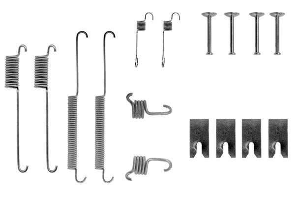 Kit de montage machoires de frein BOSCH 1 987 475 126 (X1)