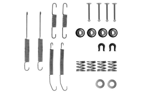 Kit de montage machoires de frein BOSCH 1 987 475 131 (X1)