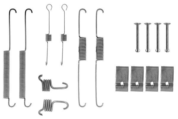 Kit de montage machoires de frein BOSCH 1 987 475 151 (X1)
