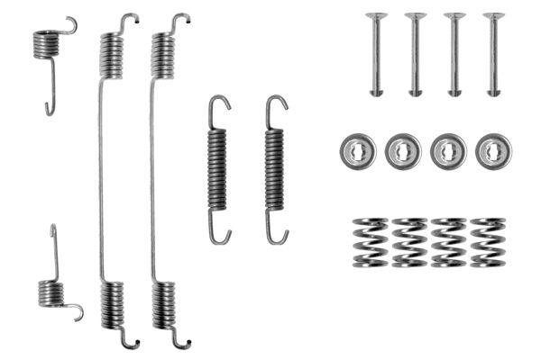 Kit de montage machoires de frein BOSCH 1 987 475 155 (X1)