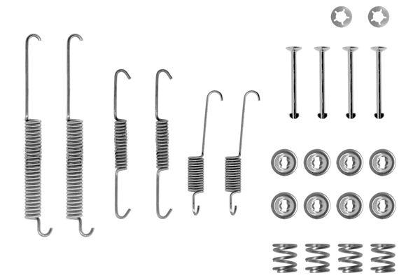 Kit de montage machoires de frein BOSCH 1 987 475 157 (X1)