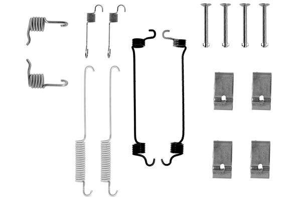 Kit de montage machoires de frein BOSCH 1 987 475 158 (X1)