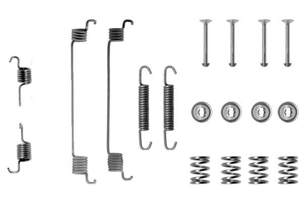 Kit de montage machoires de frein BOSCH 1 987 475 162 (X1)