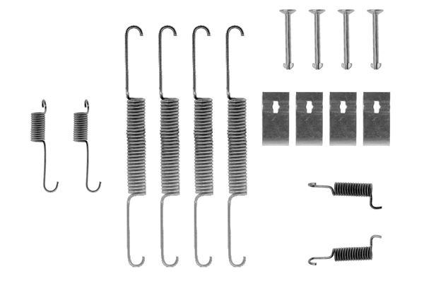 Kit de montage machoires de frein BOSCH 1 987 475 163 (X1)