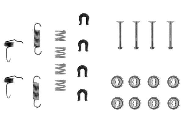 Kit de montage machoires de frein BOSCH 1 987 475 174 (X1)