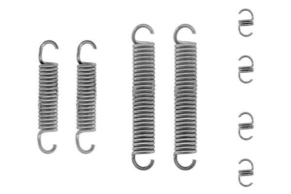 Kit de montage machoires de frein BOSCH 1 987 475 192 (X1)