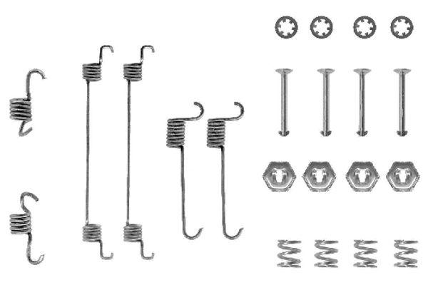 Kit de montage machoires de frein BOSCH 1 987 475 220 (X1)