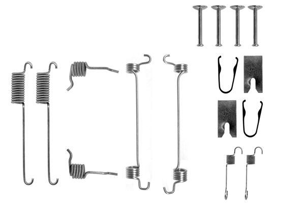 Kit de montage machoires de frein BOSCH 1 987 475 221 (X1)